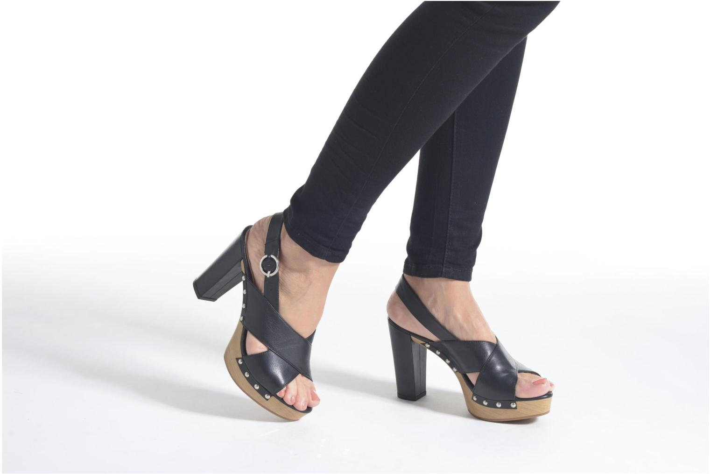 Sandali e scarpe aperte Unisa Trevor Nero immagine dal basso