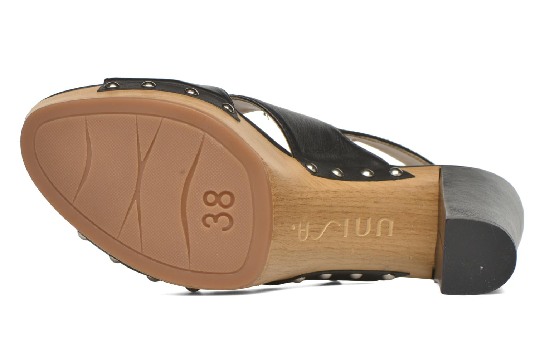 Sandali e scarpe aperte Unisa Trevor Nero immagine dall'alto