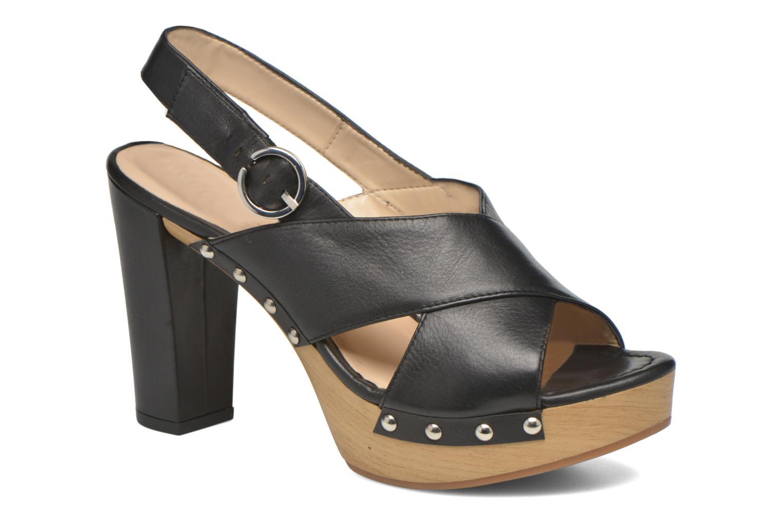 Unisa Trevor (Noir) - Sandales et nu-pieds chez Sarenza (277150)