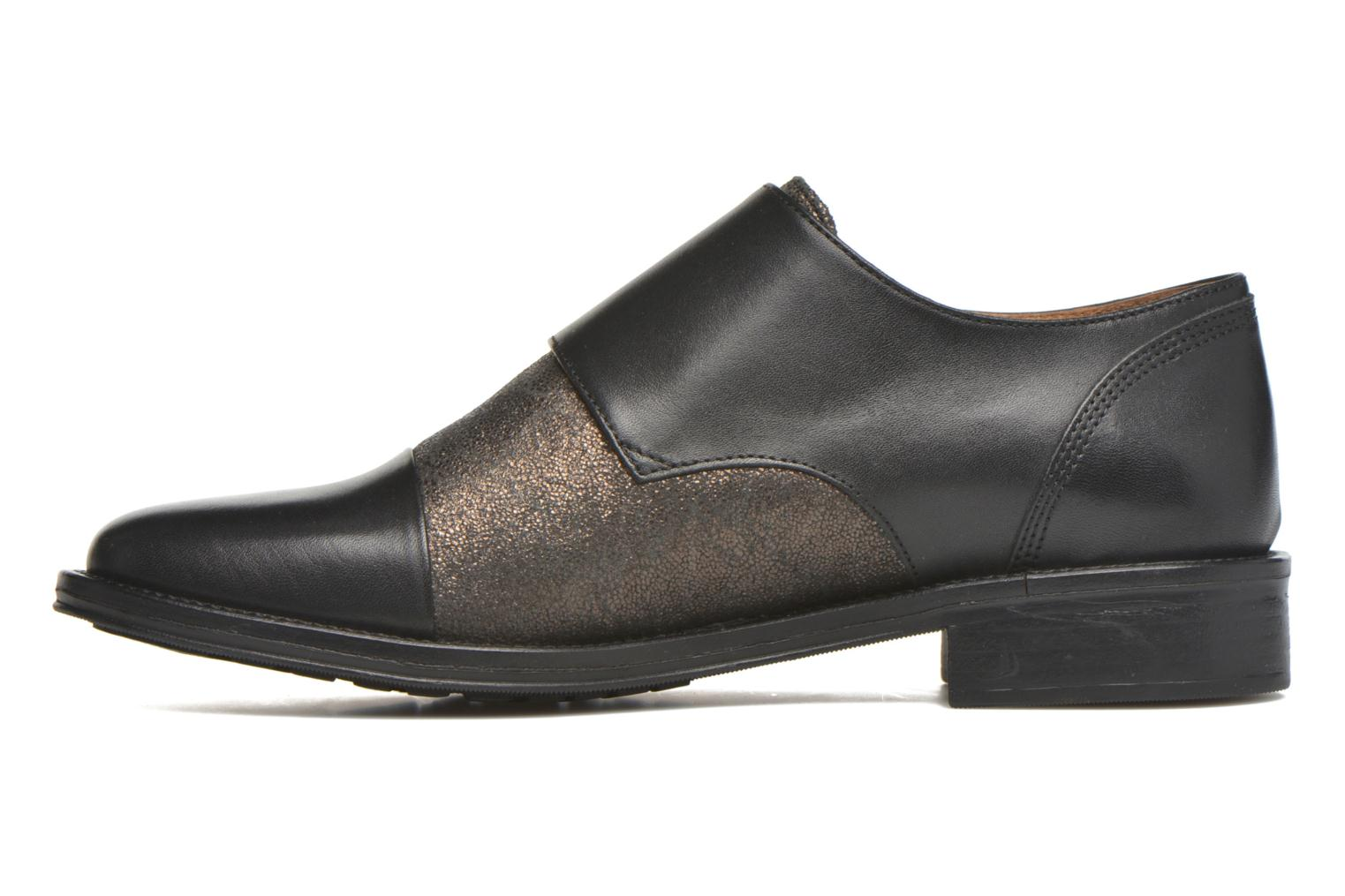 Loafers Schmoove Woman Newton sauvage Black front view