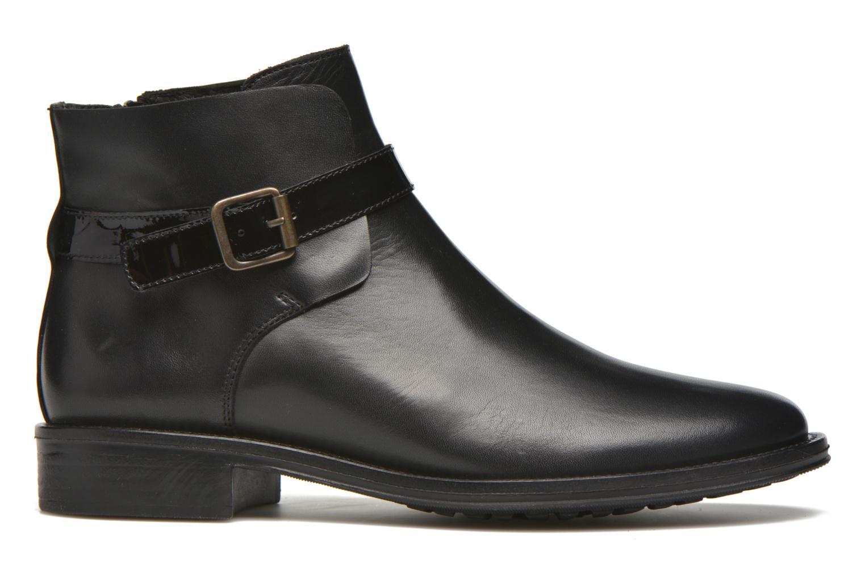 Bottines et boots Schmoove Woman Newton buckle Noir vue derrière