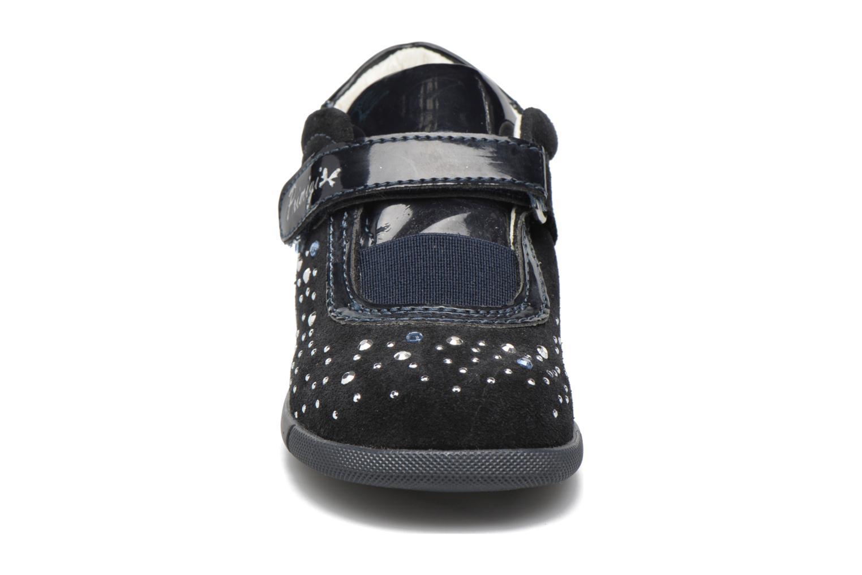 Chaussures à scratch Primigi Eleonora Bleu vue portées chaussures