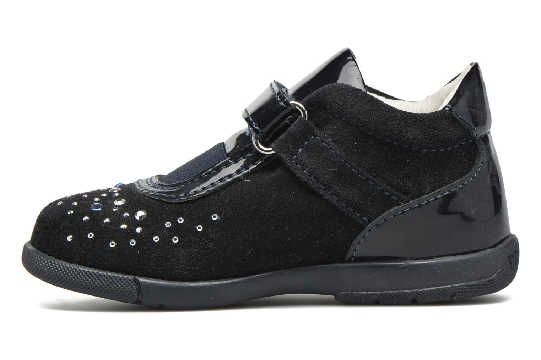 Chaussures à scratch Primigi Eleonora Bleu vue face