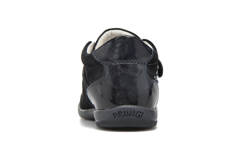 Chaussures à scratch Primigi Eleonora Bleu vue droite