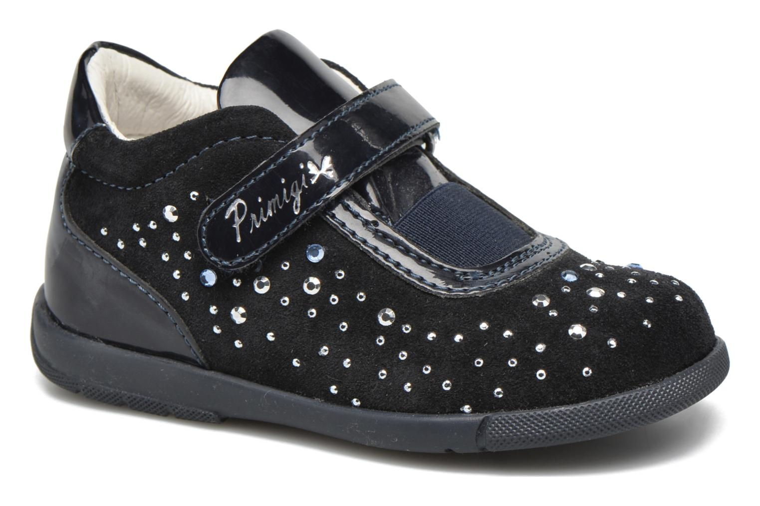 Velcro shoes Primigi Eleonora Blue detailed view/ Pair view