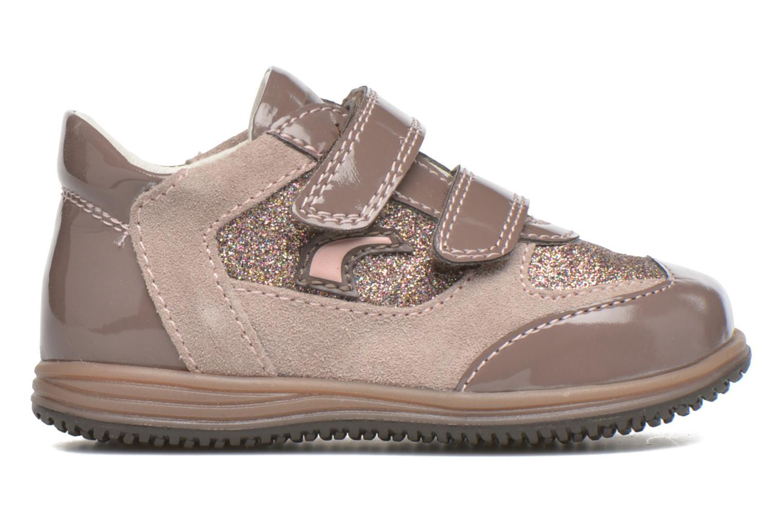 Velcro shoes Primigi Ghigo 7 Brown back view