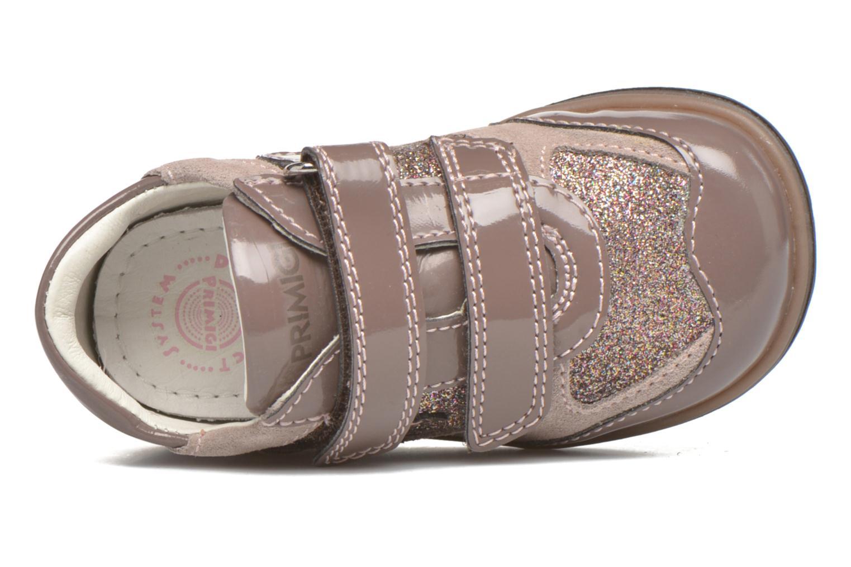 Zapatos con velcro Primigi Ghigo 7 Marrón vista lateral izquierda