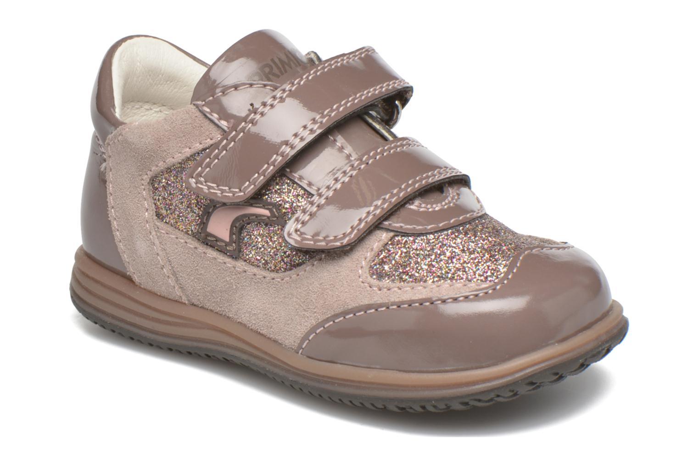 Chaussures à scratch Primigi Ghigo 7 Marron vue détail/paire