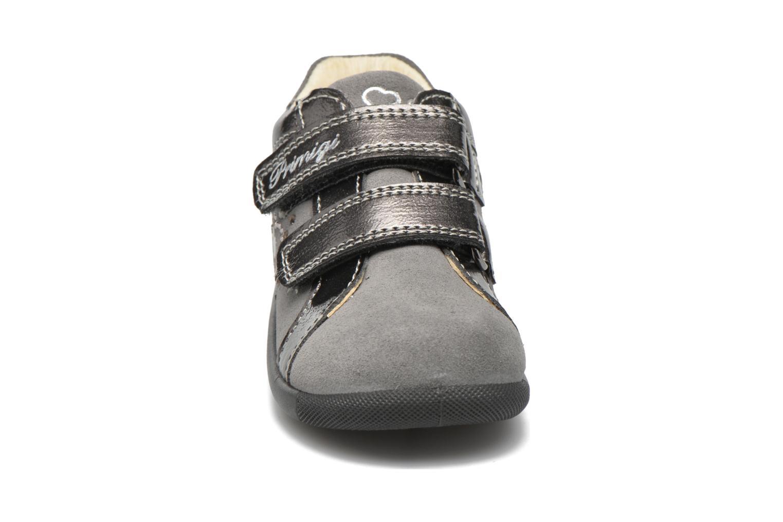Chaussures à scratch Primigi Anastasia Gris vue portées chaussures