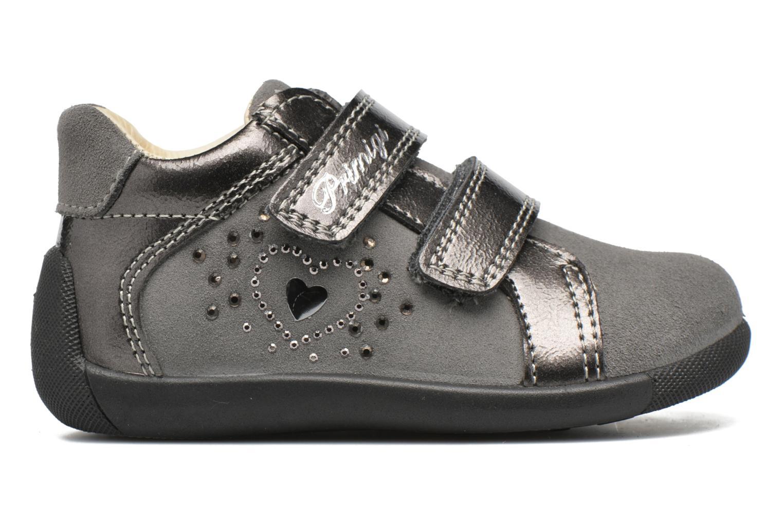Chaussures à scratch Primigi Anastasia Gris vue derrière