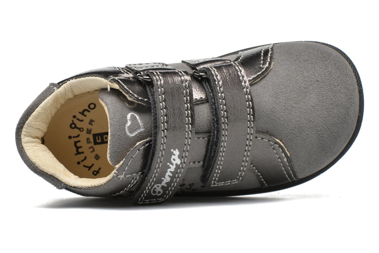 Chaussures à scratch Primigi Anastasia Gris vue gauche