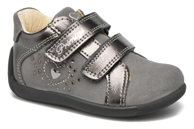 Chaussures à scratch Primigi Anastasia Gris vue détail/paire