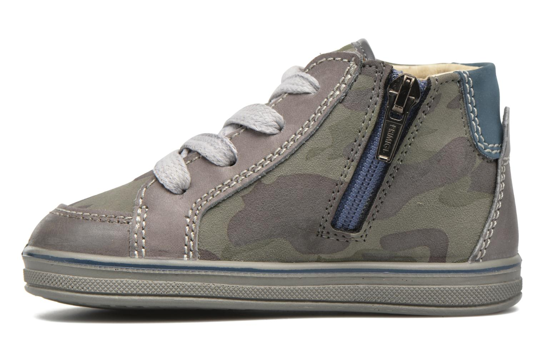 Sneakers Primigi Robby Marrone immagine frontale
