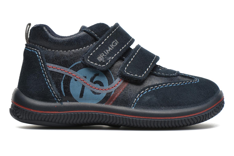 Zapatos con velcro Primigi Alfredo Azul vistra trasera