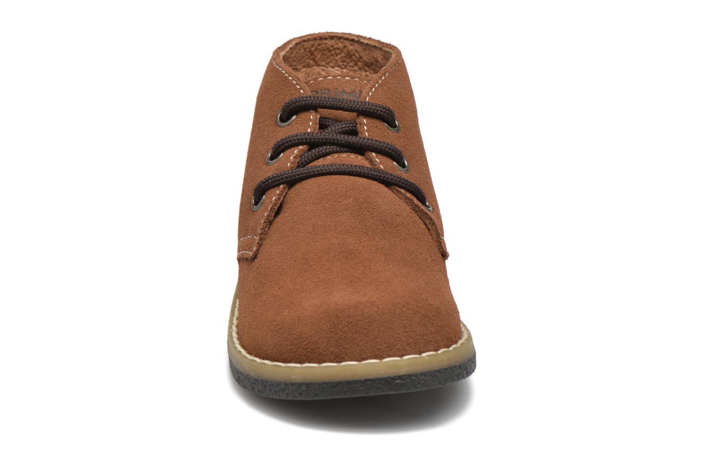 Chaussures à lacets Primigi Zizz Marron vue portées chaussures
