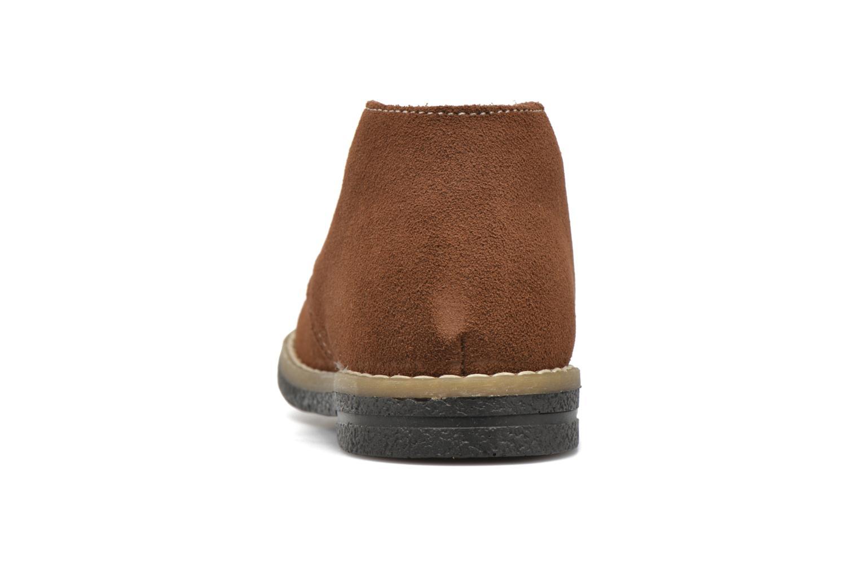 Chaussures à lacets Primigi Zizz Marron vue droite