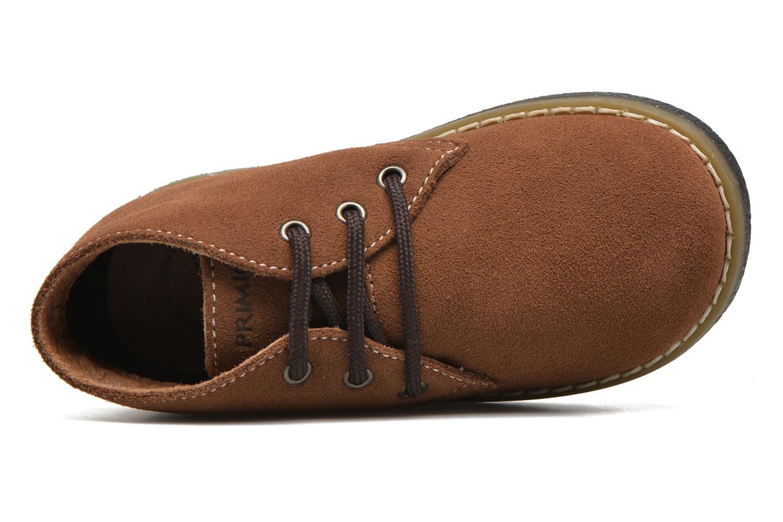 Chaussures à lacets Primigi Zizz Marron vue gauche