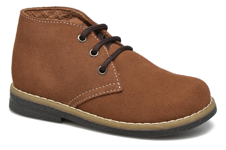 Chaussures à lacets Primigi Zizz Marron vue détail/paire