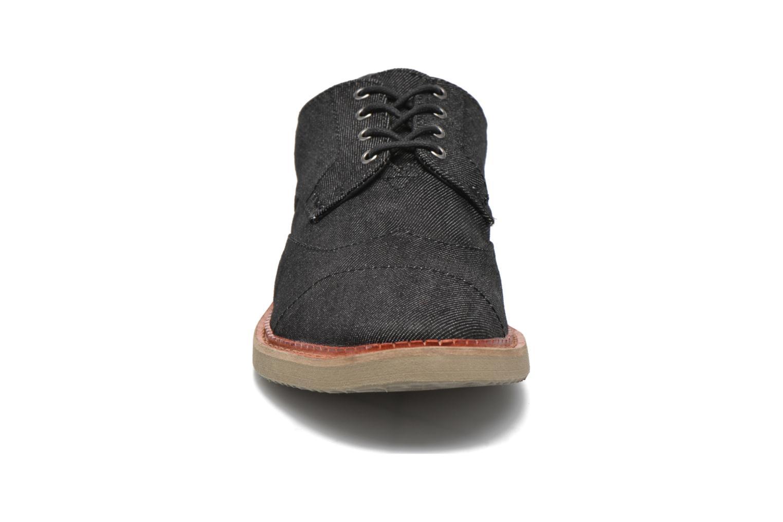 Chaussures à lacets TOMS Brogue Gris vue portées chaussures