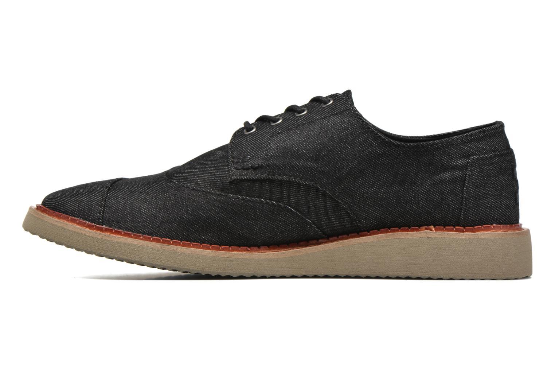 Chaussures à lacets TOMS Brogue Gris vue face