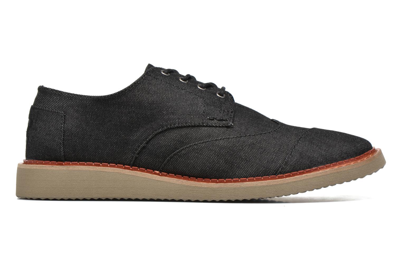 Chaussures à lacets TOMS Brogue Gris vue derrière