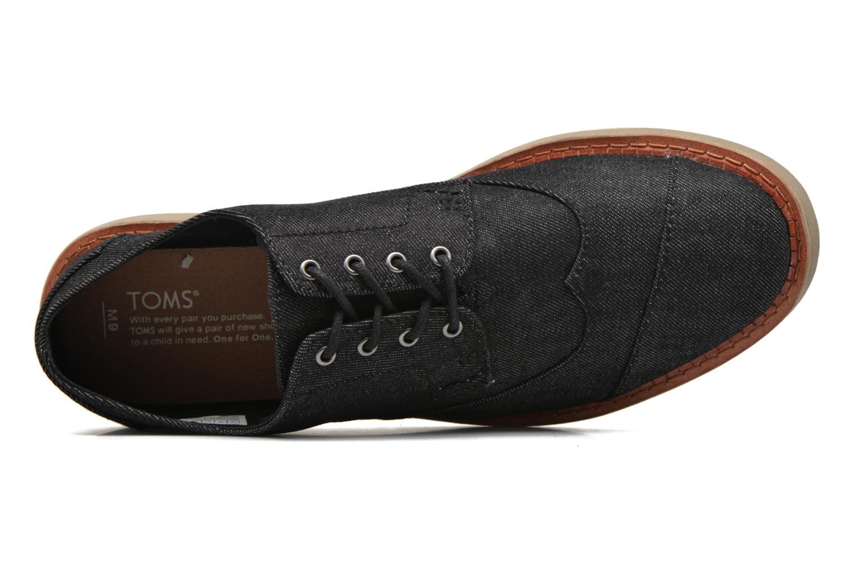 Chaussures à lacets TOMS Brogue Gris vue gauche