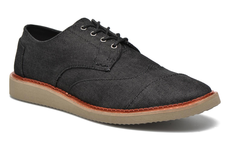 Chaussures à lacets TOMS Brogue Gris vue détail/paire