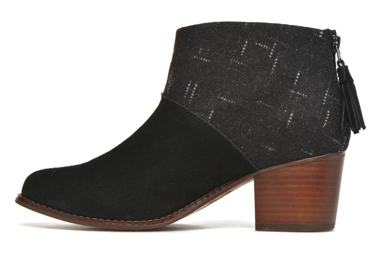 Boots en enkellaarsjes TOMS Leila bootie Zwart voorkant