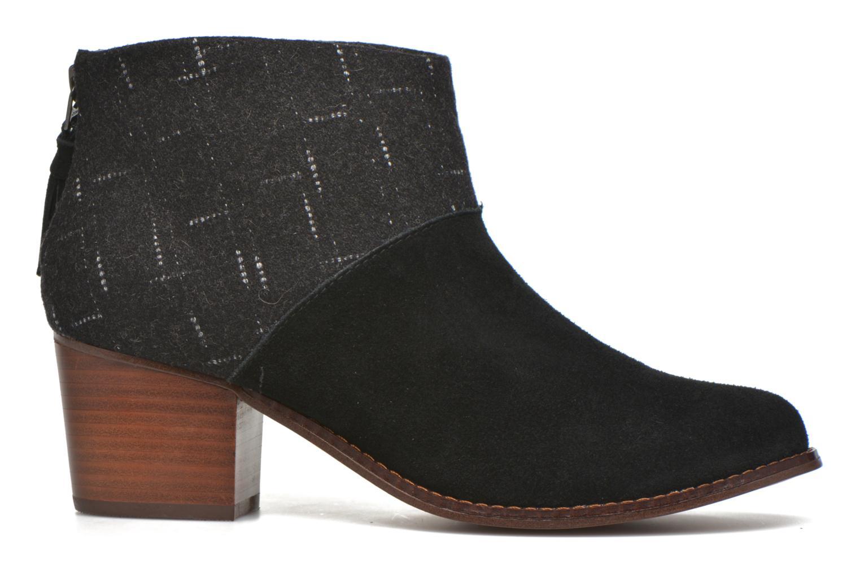 Boots en enkellaarsjes TOMS Leila bootie Zwart achterkant