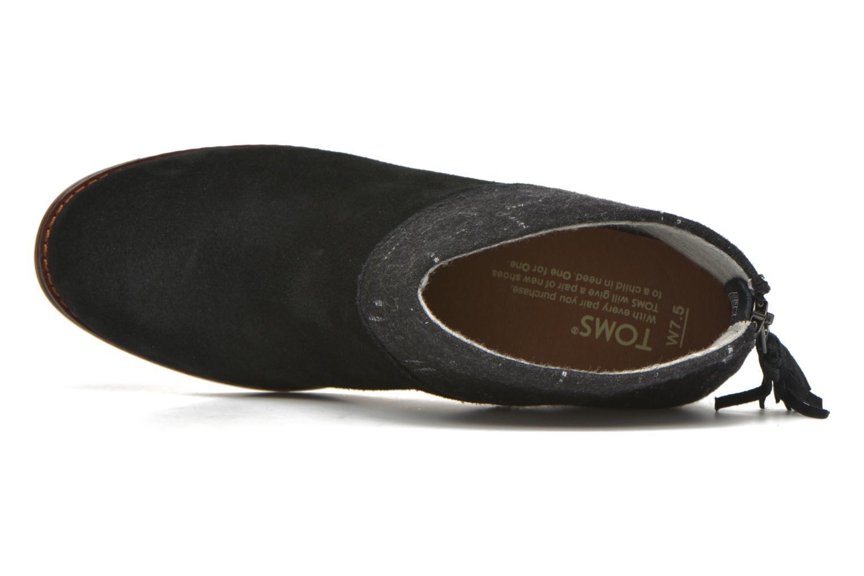 Boots en enkellaarsjes TOMS Leila bootie Zwart links