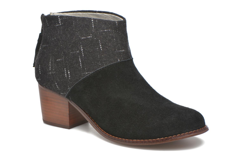 Boots en enkellaarsjes TOMS Leila bootie Zwart detail