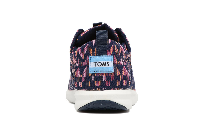 Baskets TOMS Del Rey W Violet vue droite