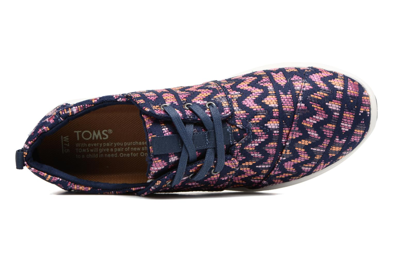 Baskets TOMS Del Rey W Violet vue gauche