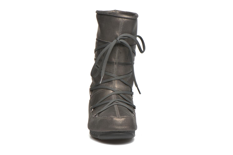 Bottines et boots Moon Boot We Caviar Lux Gris vue portées chaussures