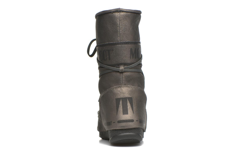 Bottines et boots Moon Boot We Caviar Lux Gris vue droite
