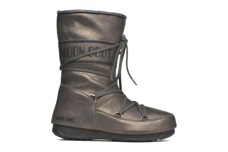 Bottines et boots Moon Boot We Caviar Lux Gris vue derrière