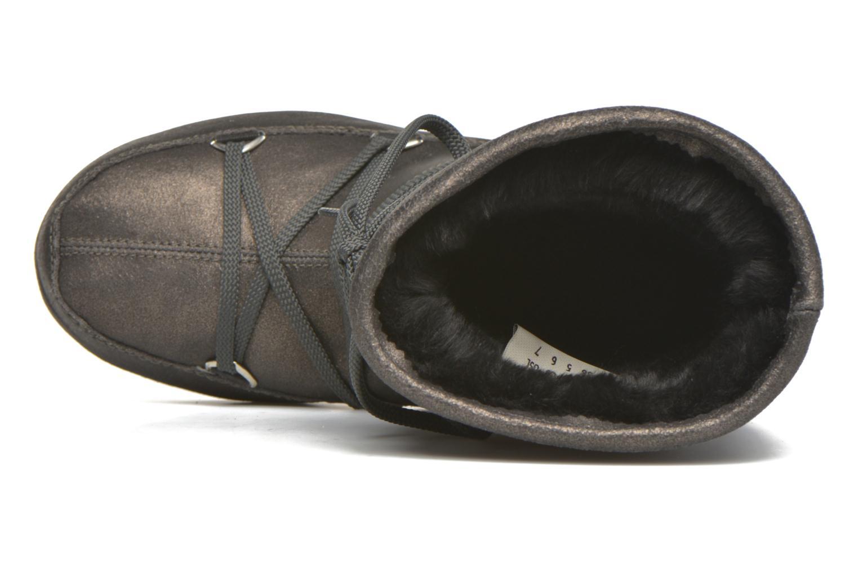 Bottines et boots Moon Boot We Caviar Lux Gris vue gauche
