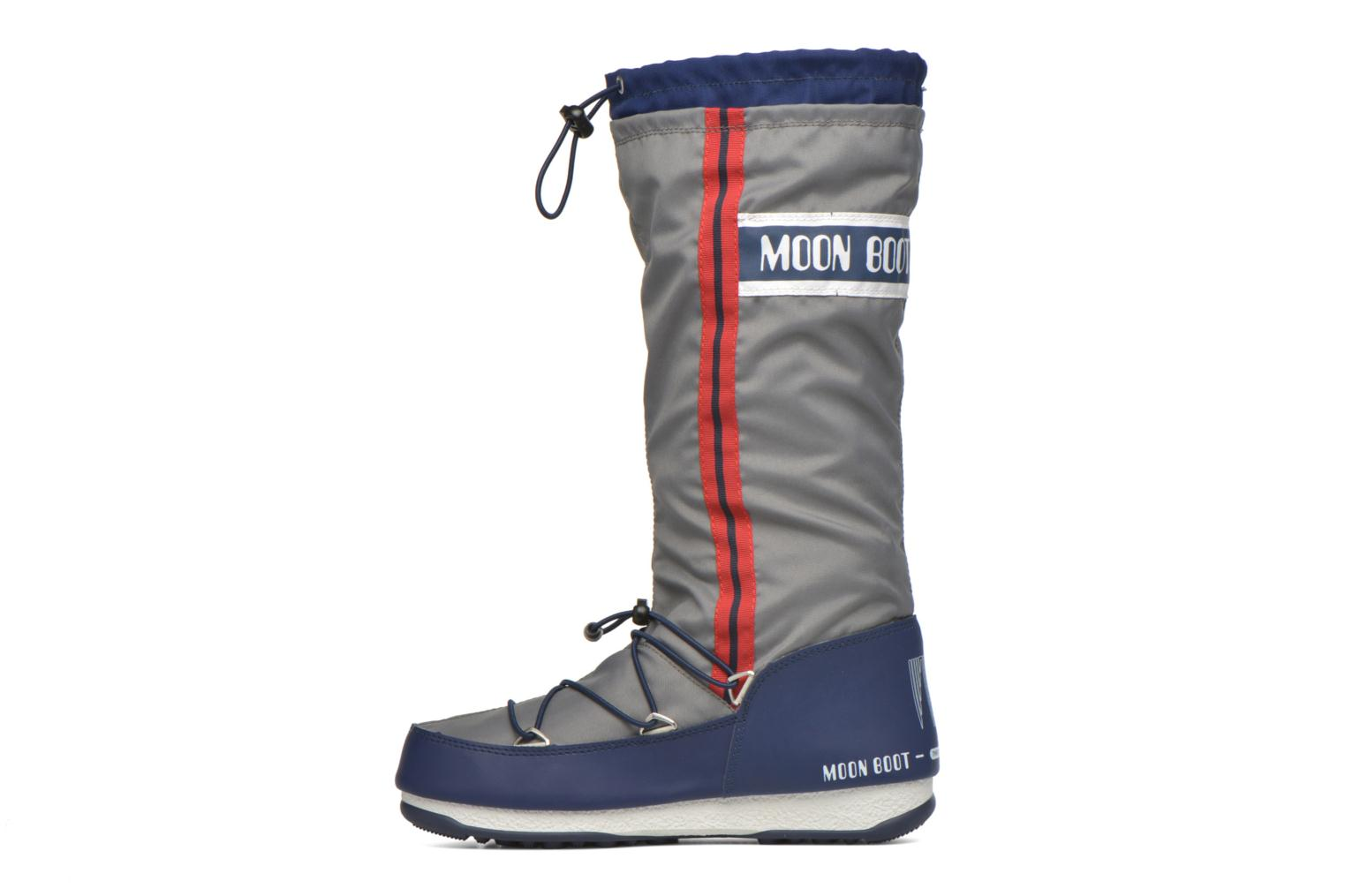 Bottes Moon Boot We Waterfall Gris vue face