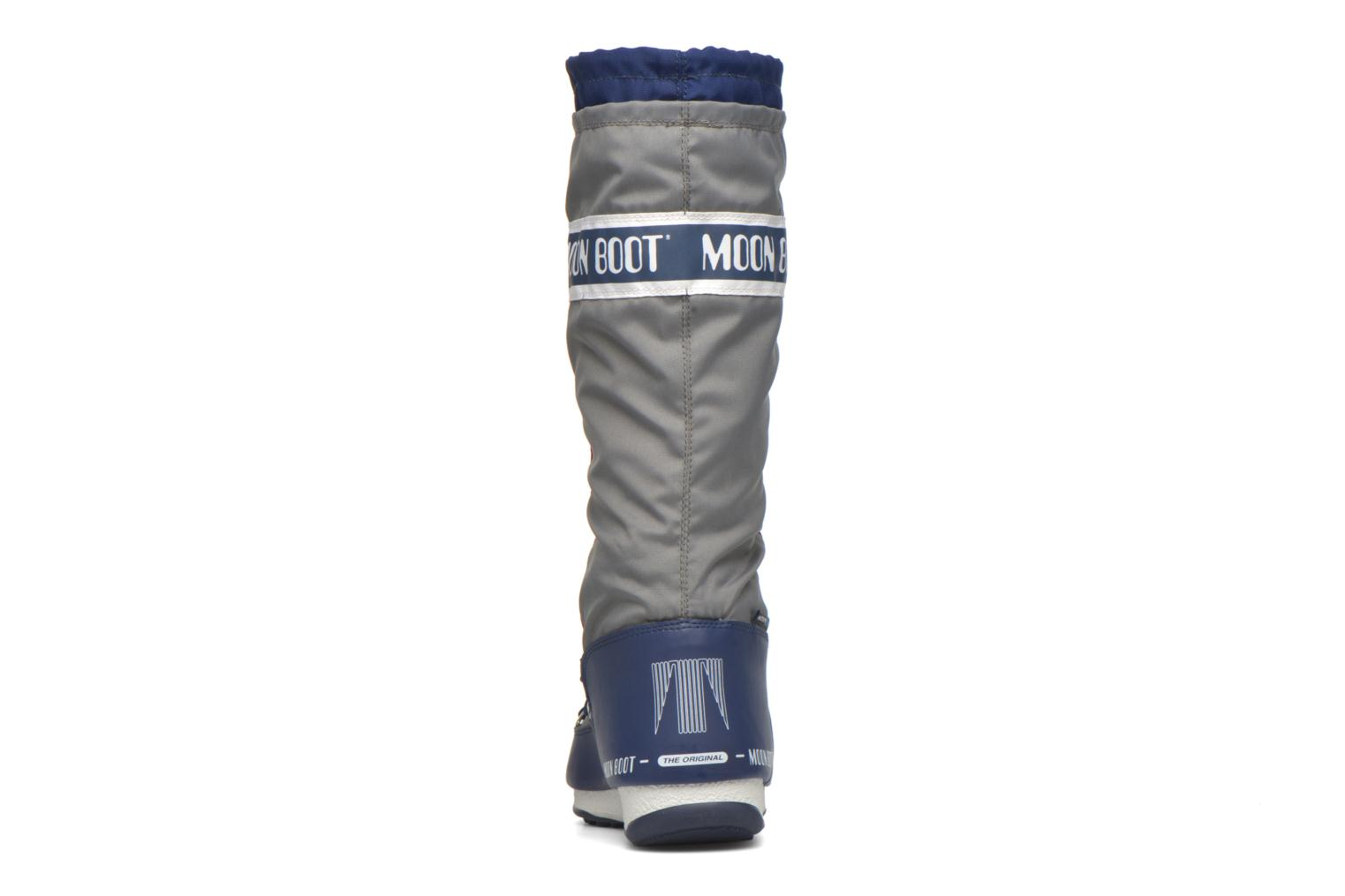 Bottes Moon Boot We Waterfall Gris vue droite
