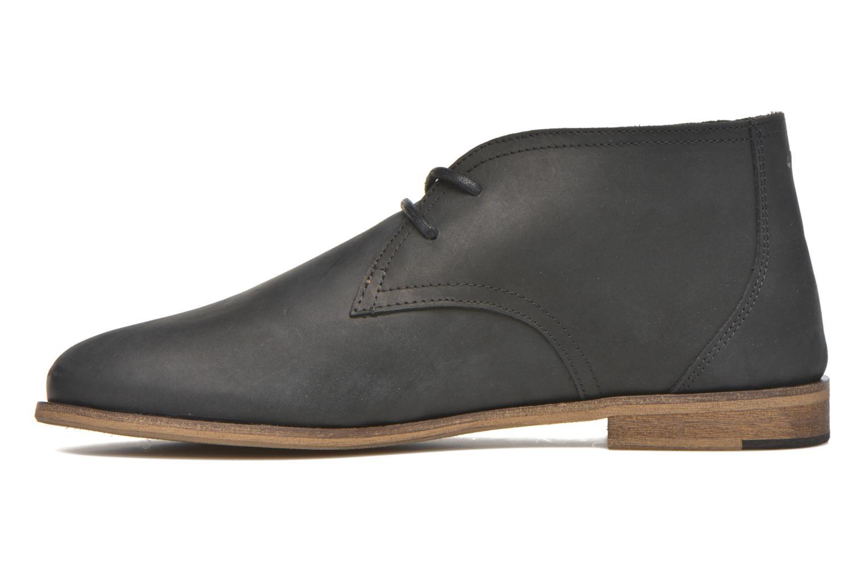 Chaussures à lacets M. Moustache Armand Noir vue face