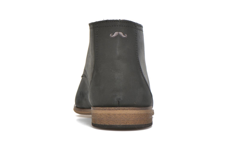 Chaussures à lacets M. Moustache Armand Noir vue droite