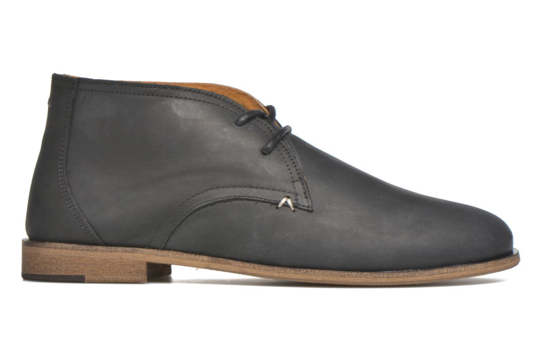 Chaussures à lacets M. Moustache Armand Noir vue derrière