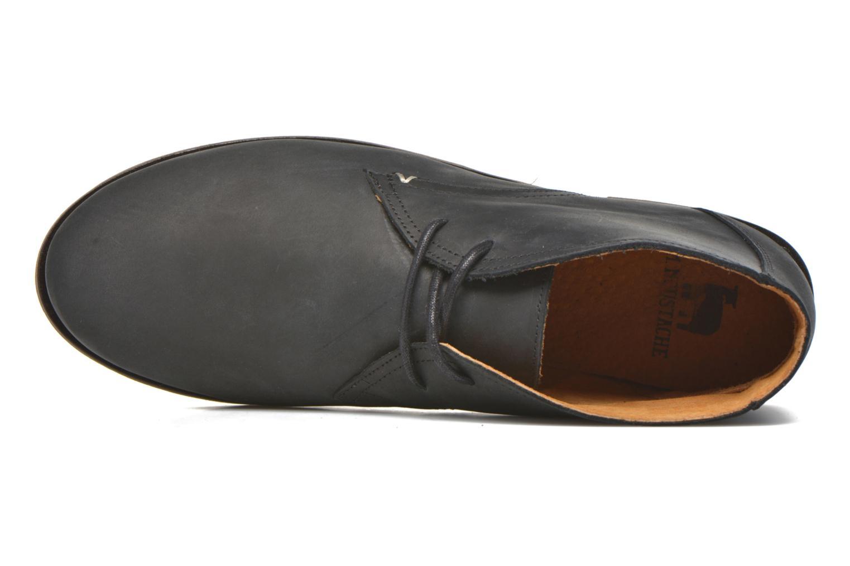 Chaussures à lacets M. Moustache Armand Noir vue gauche