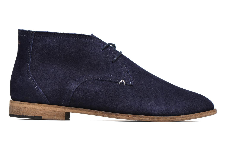 Chaussures à lacets M. Moustache Armand Bleu vue derrière