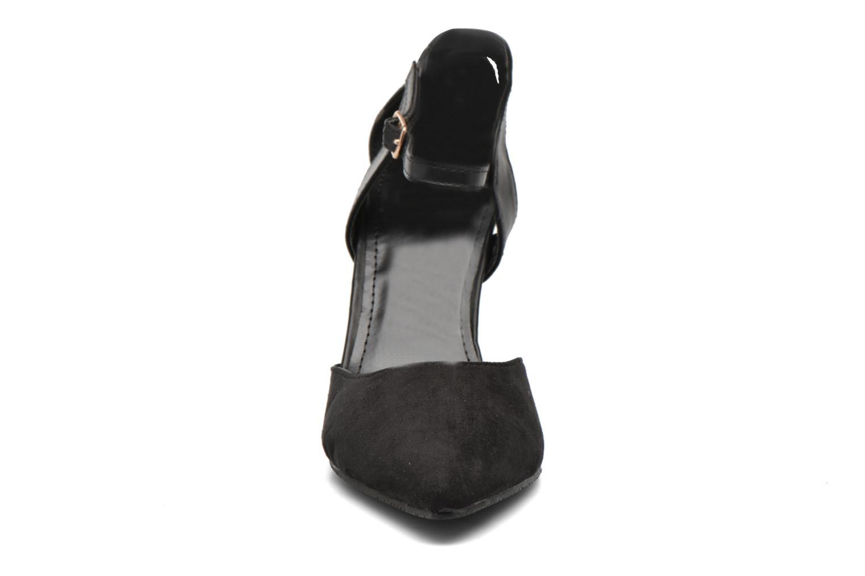 Escarpins Enza Nucci Emma Noir vue portées chaussures