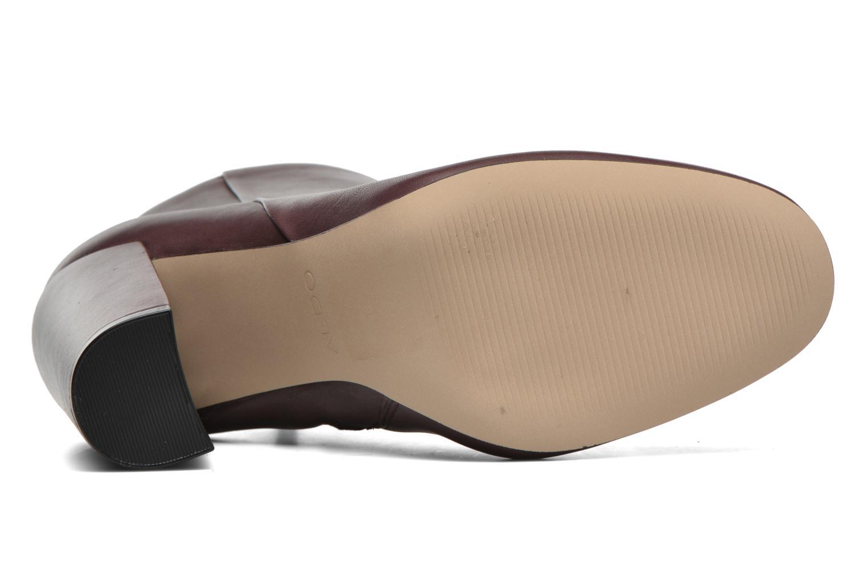Boots en enkellaarsjes Aldo ARAVIA Bordeaux boven