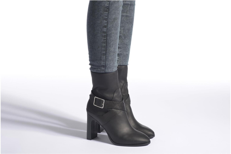Bottines et boots Aldo COINIA Noir vue bas / vue portée sac