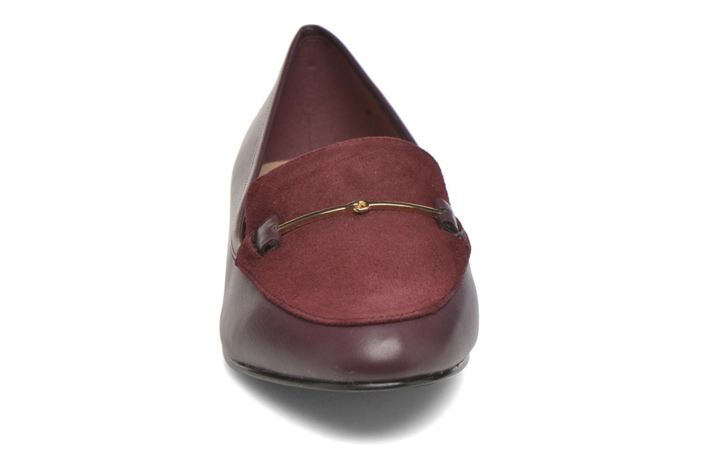 Mocassins Aldo HARRIETT Bordeaux vue portées chaussures