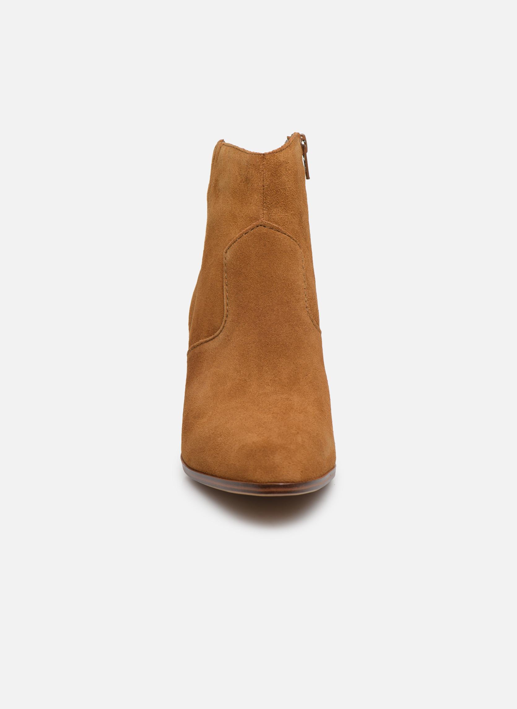 Bottines et boots Aldo MARECCHIA Marron vue portées chaussures
