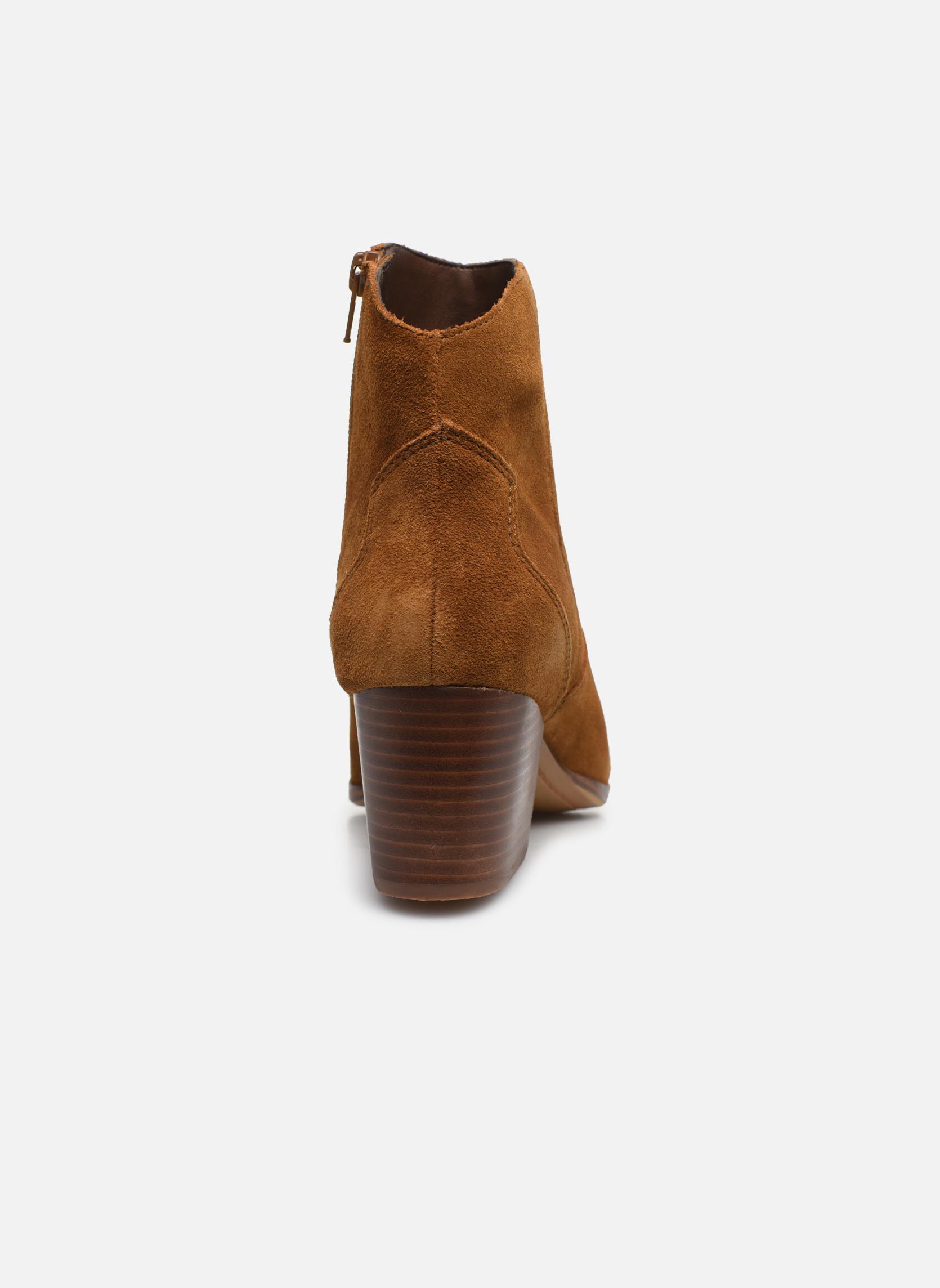 Bottines et boots Aldo MARECCHIA Marron vue droite
